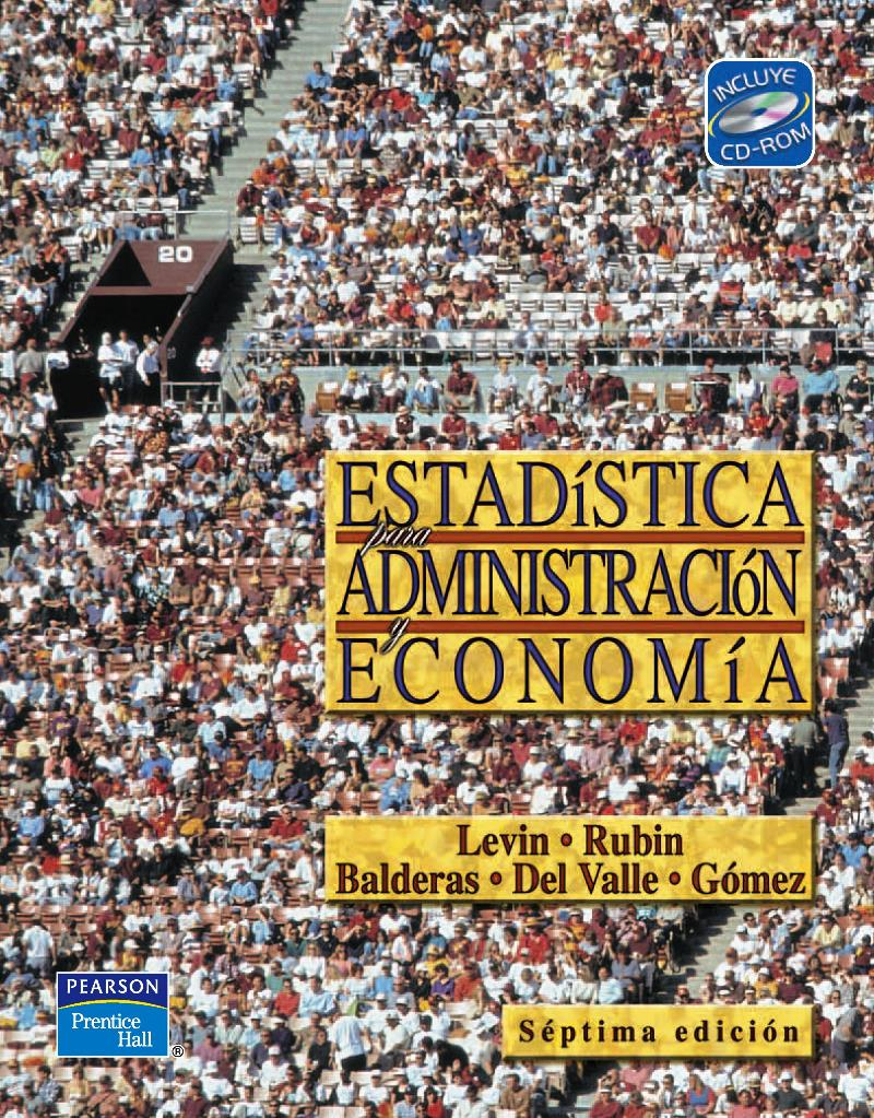 Estadística para Administración y Economía, 7ma Edición – Richard I. Levin, David S. Rubin