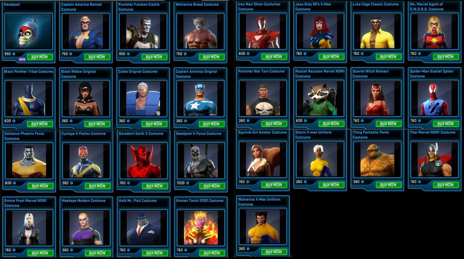 Marvel Heroes Bulletin 1 ~ amanda claireyancey