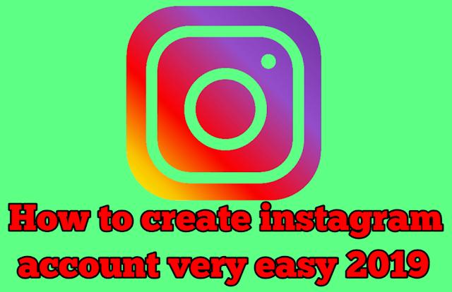 Create instagram, create instagram account.