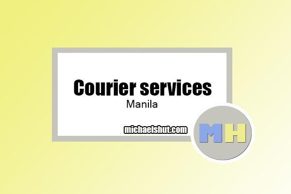 courier services Manila by michaelshut.com