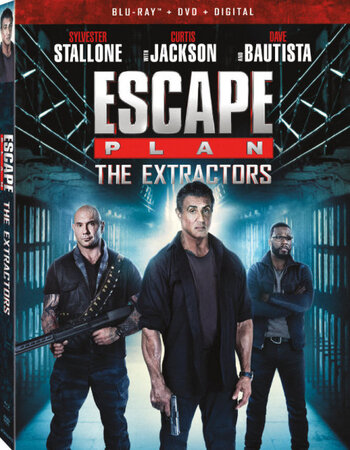 Escape Plan: The Extractors (2019) English 480p DVDRip x264 250MB Movie Download