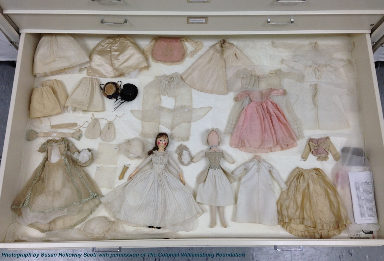 Two Nerdy History Girls: A Well-Loved Georgian Doll and Her Wardrobe ...
