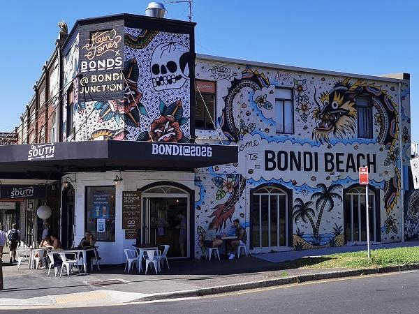 Bondi Street Art | Mural by Steen Jones