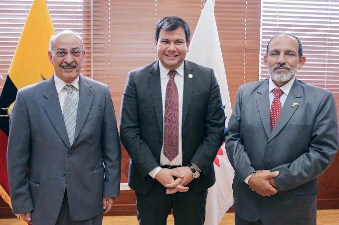 El presidente de la Asamblea Nacional de Ecuador recibe una delegación saharaui