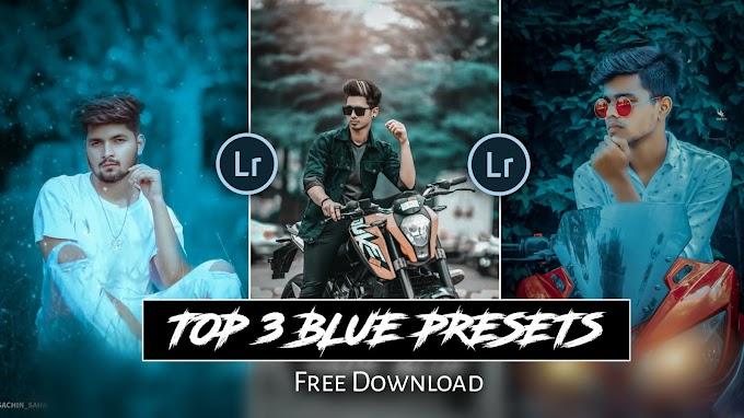 Top 3 BLUE TONE PRESETS FREE DOWNLOAD | SAHA SOCIAL Google Drive preset
