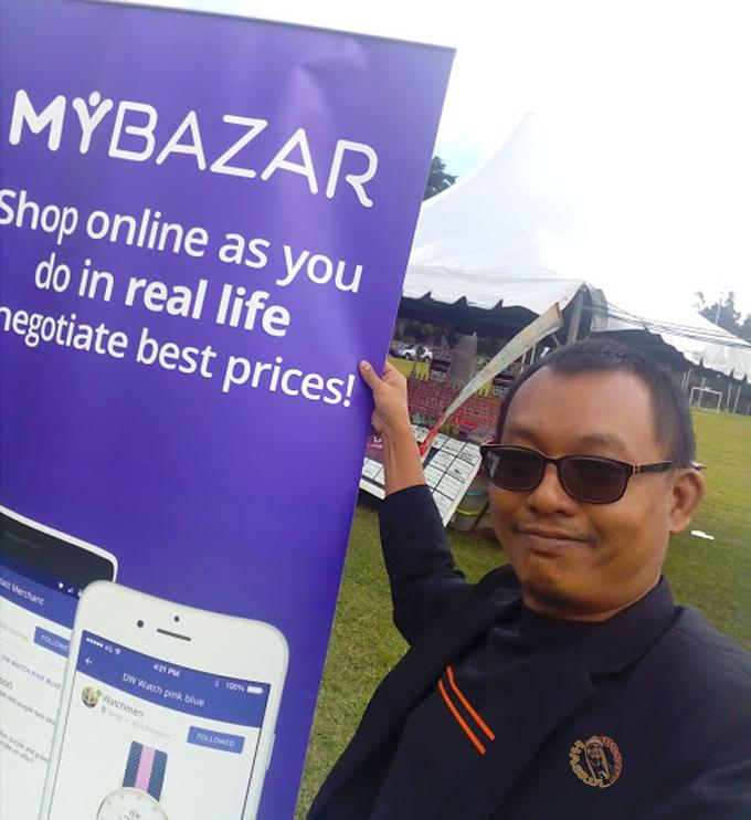Aplikasi MyBazar Untuk Usahawan IKS Jual Online