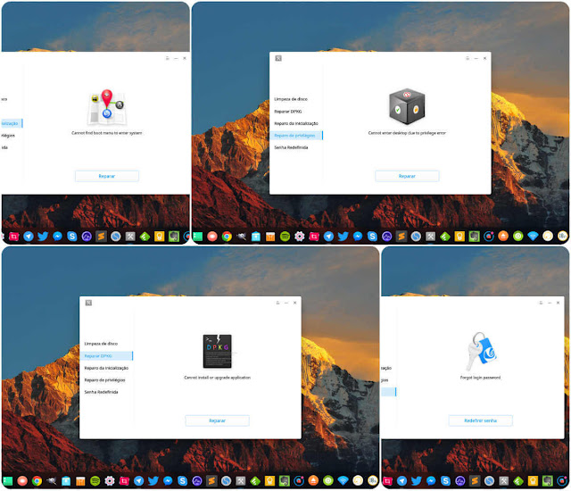 Deepin Repair Collage