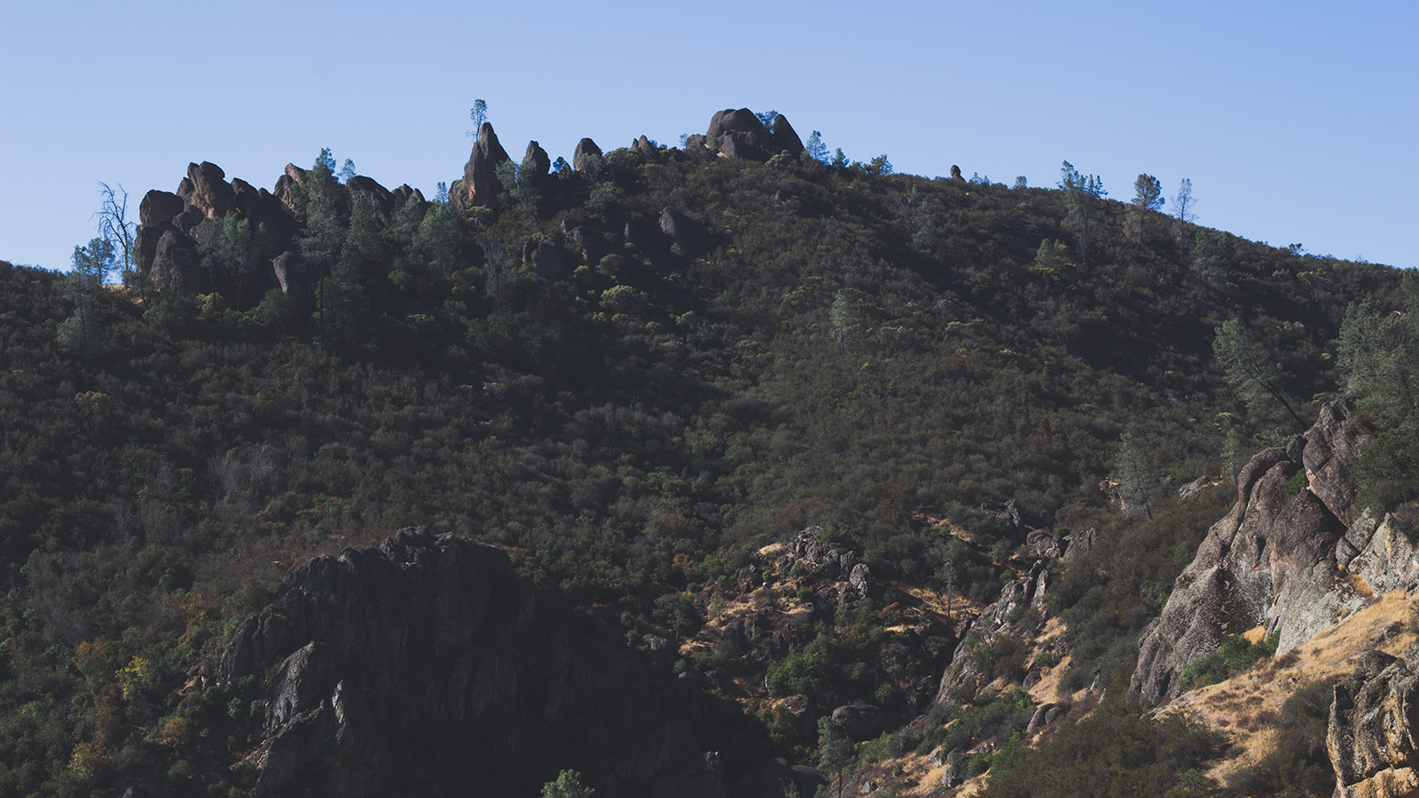 The rock spires that give the park its name