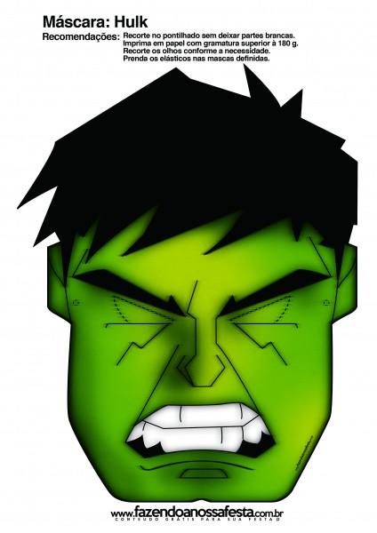 Hulk Free Printable Mask Oh My Fiesta For Geeks