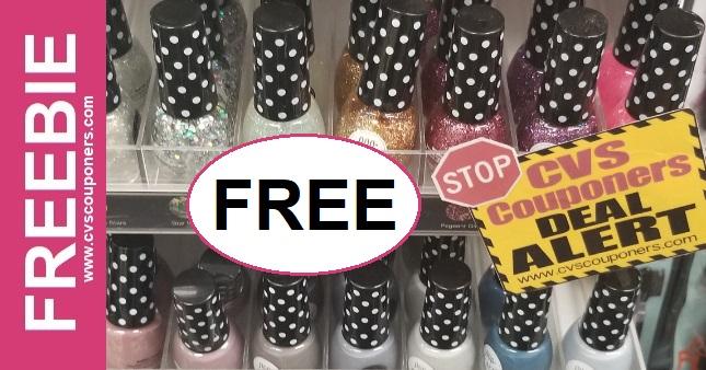 FREE Poparazzi Nail Polish CVS Deal 10-6-10-12