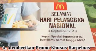 Memberikan Promo Khusus Harpelnas merupakan salah satu cara unik untuk rayakan hari pelanggan nasional