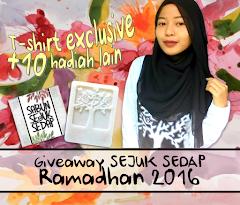 Giveaway Sejuk Sedap Ramadhan 2016