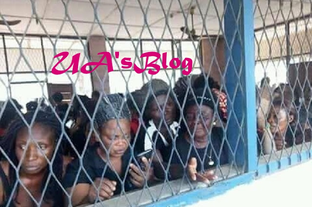 "Court sends 114 pro-Biafra women to prison over ""Peaceful Protest"""
