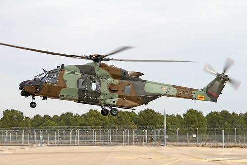El Ejército desplegará helicópteros de transporte NH-90 en Irak en 2020