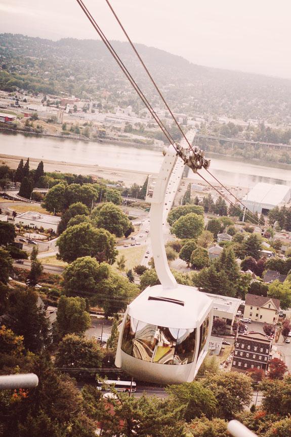 2 days in Portland aerial tram