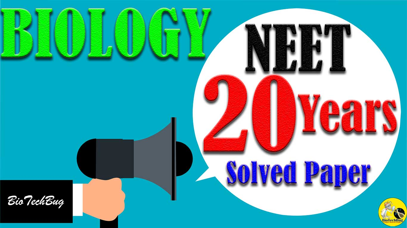 20 years neet solved papers