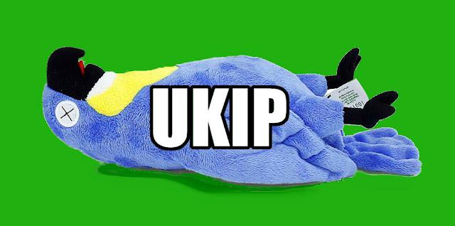 UKIP NEWS: BORING SPOOK ELECTED LEADER, LOGO CHANGED