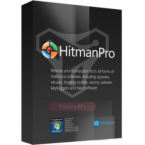 تحميل برنامج HitmanPro 3.8.20 كامل مع التفعيل للحماية من الفيروسات وملفات التجسس