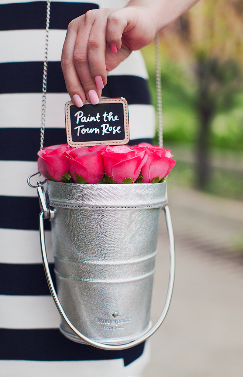 Kate Spade New York Rose Pail Bag