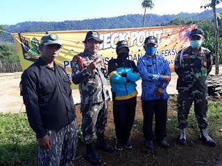Ormas Barisan Benteng Raya Padjajaran (BBRP) Zona 5 Mengadakan Antisivasi Covid-19 Cipeuteuy Kabandungan