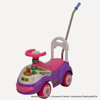Ride-on Car Family FT6314 Tobby Boneka Bergoyang