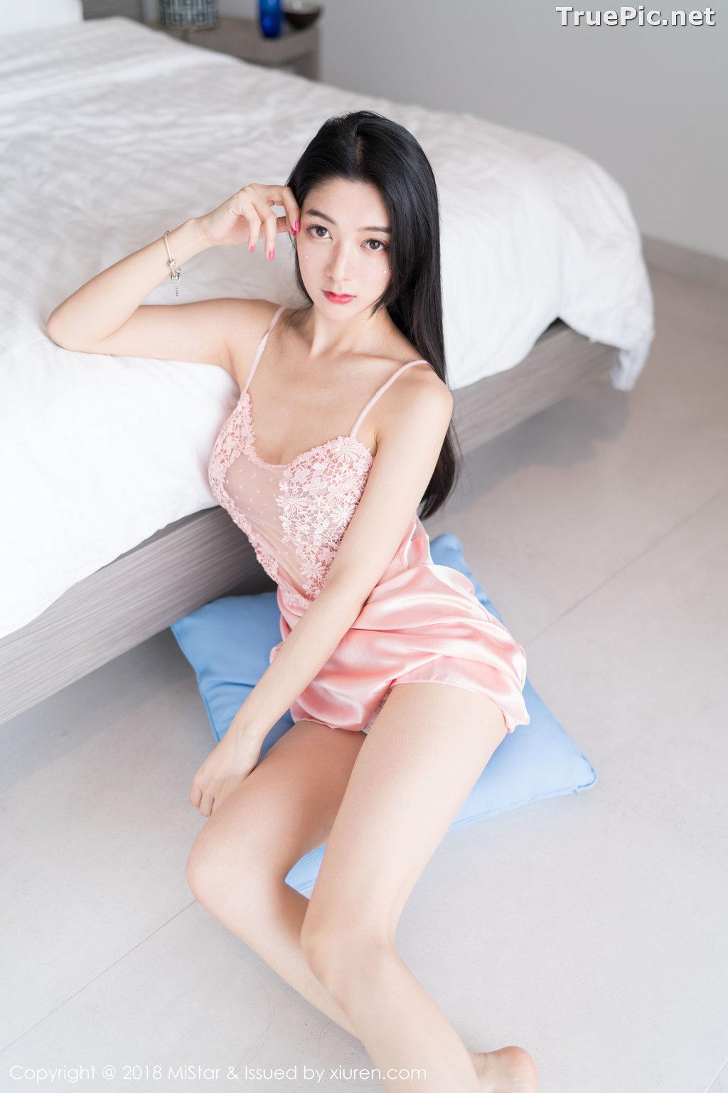 Image MiStar Vol.238 - Chinese Model - Xiao Reba (Angela小热巴) - Sleep Dress and Monokini - TruePic.net - Picture-26