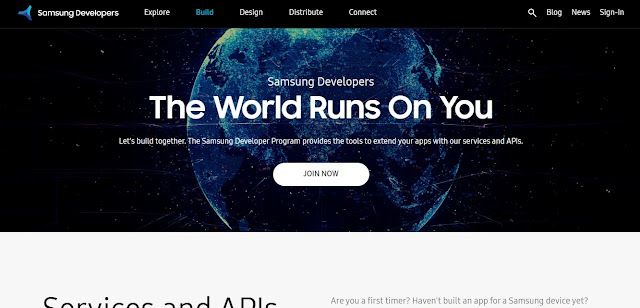 Samsung Developer Portal
