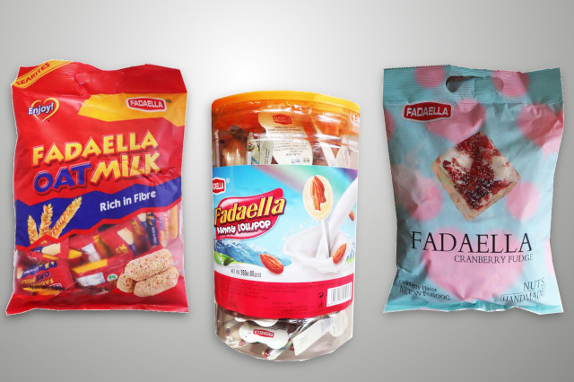 Fadaella Food And Brands (Oat Milk, Kammy Lollipop And Cranberry Fudge)