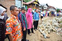 Respon Cepat, Bupati Bima Tinjau Bencana Longsor di Desa Samili