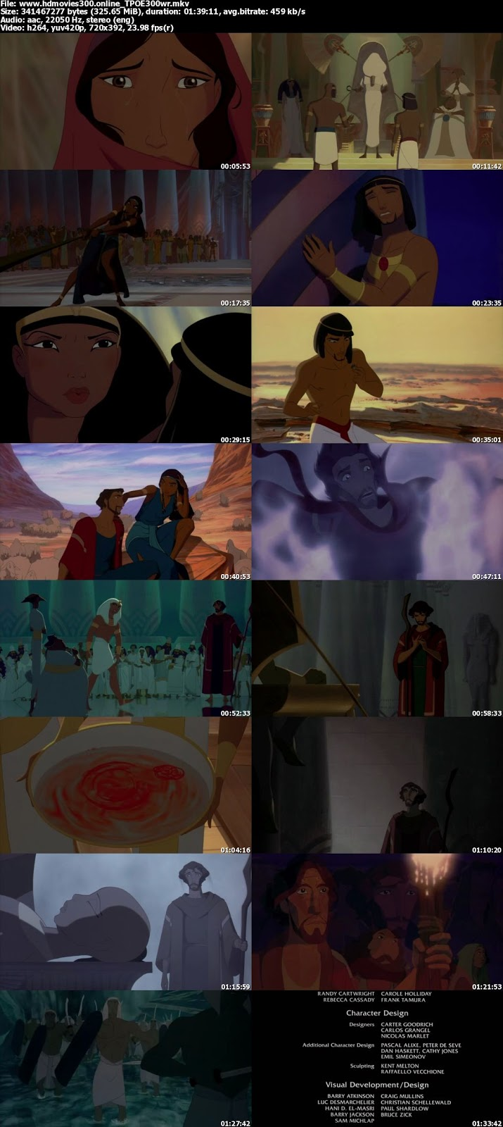 The Prince of Egypt (1998) - Playing with the Big Boys Scene (4/10)   Movieclips