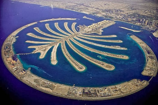 i of the 7 emirates that brand upward the  Nice Destination to see piece Dubai Honeymoon