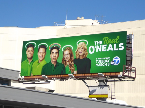 Real O'Neals sitcom billboard