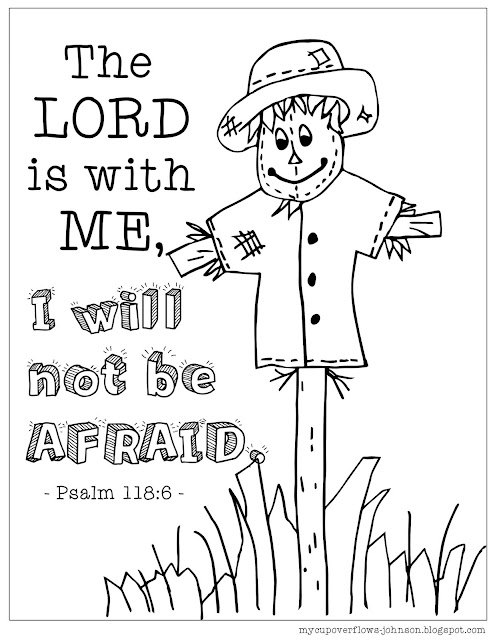 free fall coloring pages Psalm 118:6