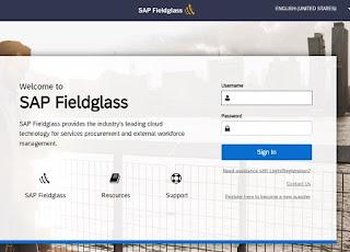sap fieldglass timesheet login page