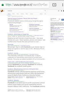 mengganti tampilan browser hp seperti di desktop