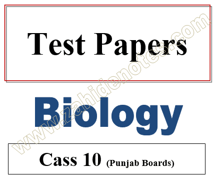 10th class biology chapter-wise tests pdf download