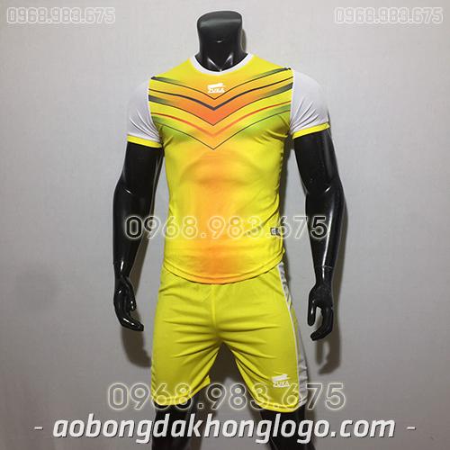 Áo bóng đá ko logo Zuka Mon màu vàng