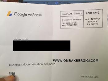 Berapa Lama Surat Daripada Google Adsense Nak Sampai ?