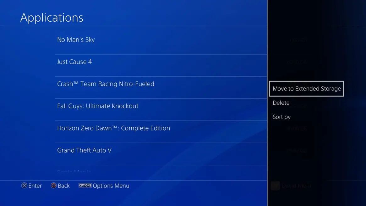 PS5 Application