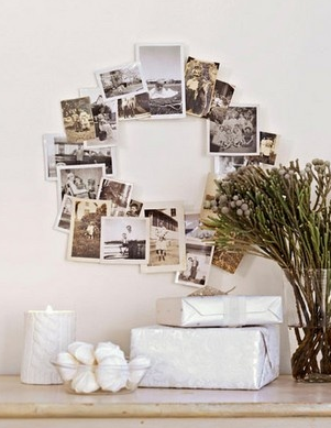 Ideas de cómo decorar con fotos las paredes