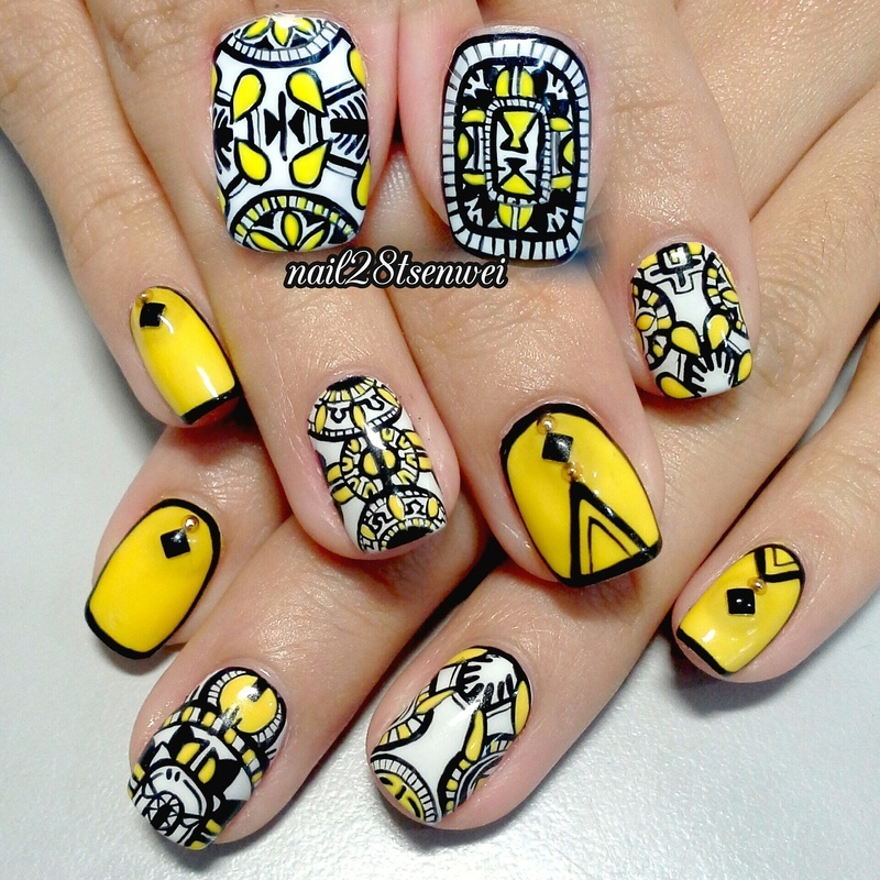 Go Retro: Retro Inspired Nail Art Ideas That Will Make You Drool