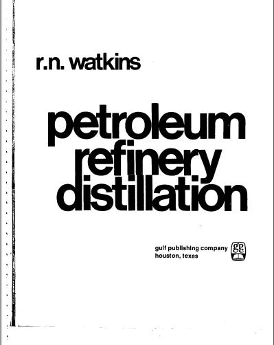 Petroleum Refining Processes Ebook