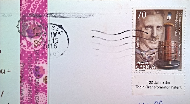 Stamps from Serbia