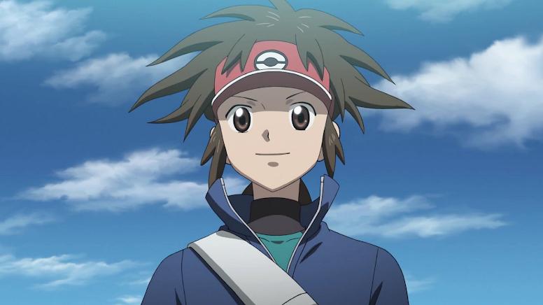 Nate, protagonista dos jogos Pokémon Black 2 and Pokémon White 2