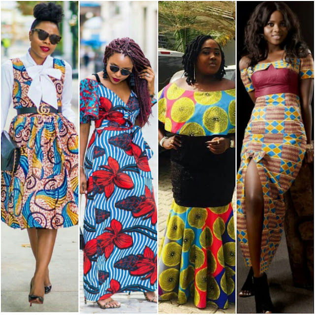 Latest Fashion Ankara Style 2018: African Modern Gowns, Tops and Dresses