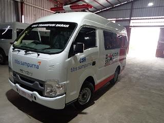Karoseri Perakitan Ambulance Isuzu Traga