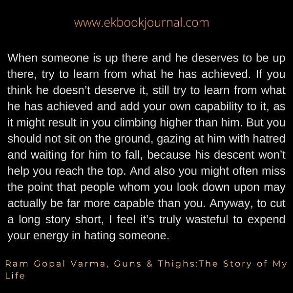 Ram Gopal Varma   Guns & Thigh Quotes