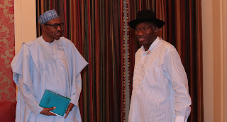 , Breaking! Former President Goodluck Jonathan currently in a meeting with President Buhari(Photos), Latest Nigeria News, Daily Devotionals & Celebrity Gossips - Chidispalace