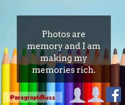 Facebook Profile Picture Caption