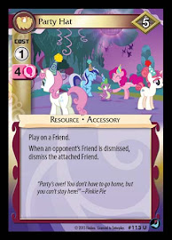 My Little Pony Party Hat High Magic CCG Card